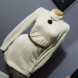 Knitted Tunic Top w Belt.